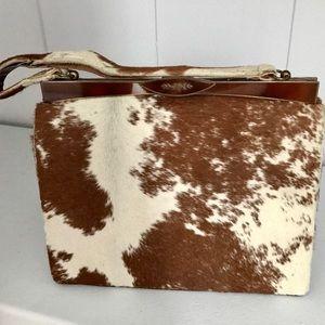 Handbags - Vintage Clasp Cowhide Purse
